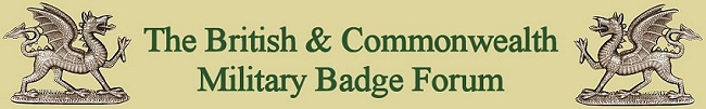 British & Commonwealth Military Badge Forum