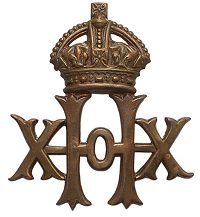 20th Hussars Cap Badge