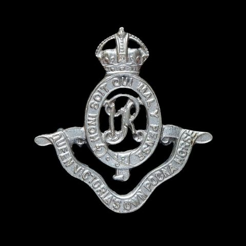 17th Queen Victoria's Own Poona Horse Cap Badge