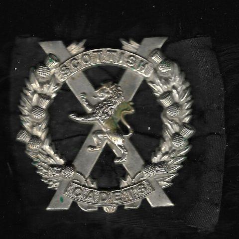 Scottish Cadets Bonnet Badge