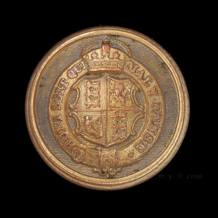 British Consular Service, Full and Levée Dress Uniform Button
