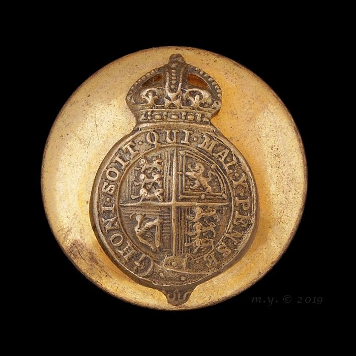 His Majesty's Household Levee Dress Uniform Button