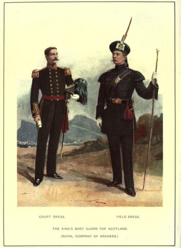Royal Company of Archers, Field and Court Dress