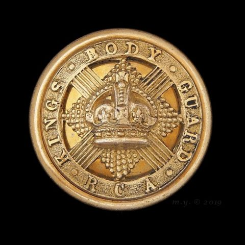 King's Body Guard of Scotland, Royal Company of Archers Button