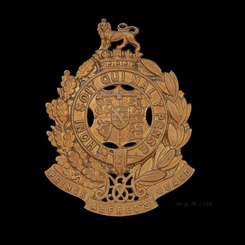 Prince Alfred's Guard Cap Badge