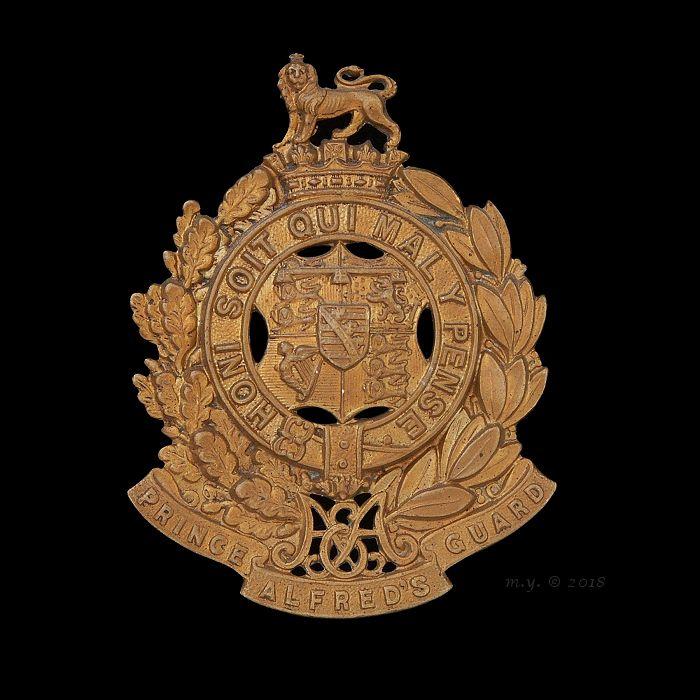 Prince Alfred's Guard Cap Badge