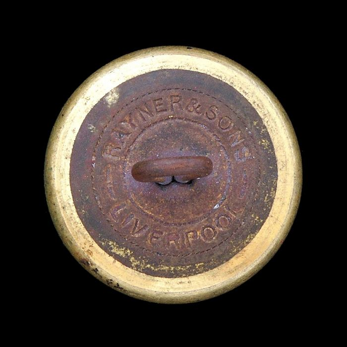 J.J. Rayner and Sons Liverpool Navy Outfitters. Button