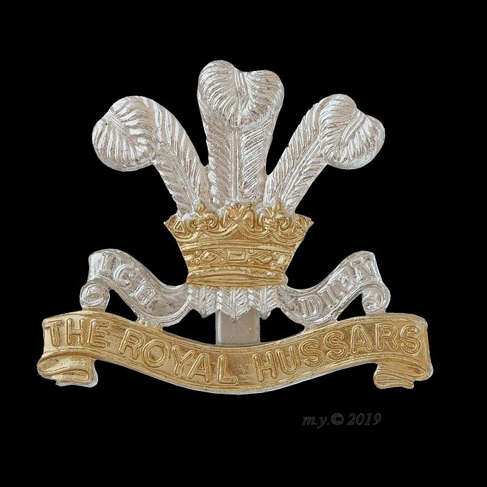 The Royal Hussars Cap Badge
