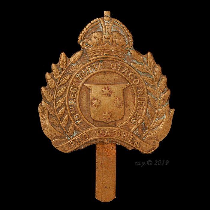 10th North Otago Rifles Regiment Cap Badge