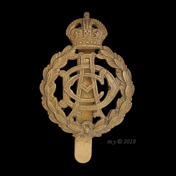 Army Dental Corps Cap Badge 1st type 1921-1948