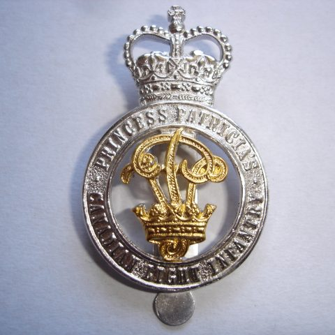 PPCLI Officer's Cap Badge