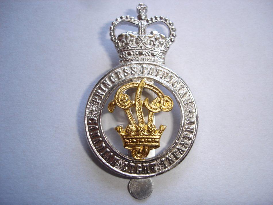 PPCLI Officer's Cap Badge