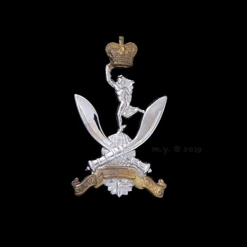 Queen's Gurkha Signals Cap Badge
