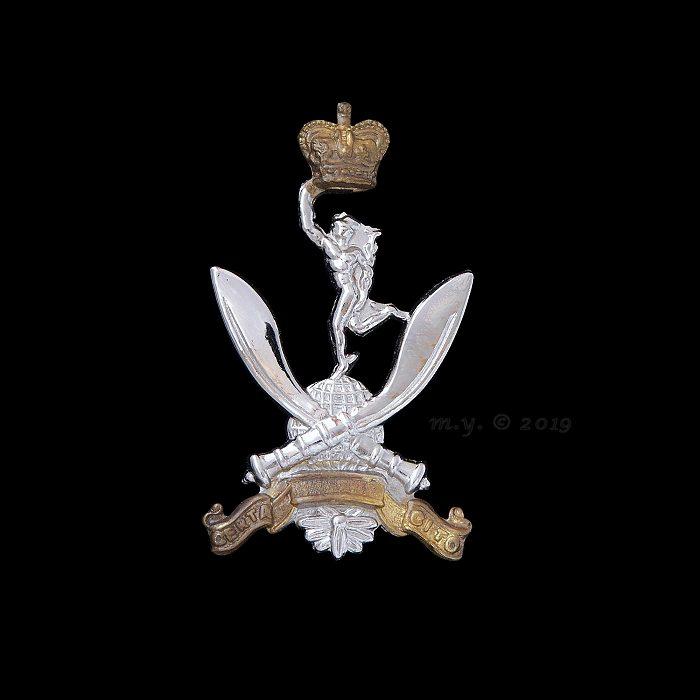 Queen's Gurkha Signals Cap Badge
