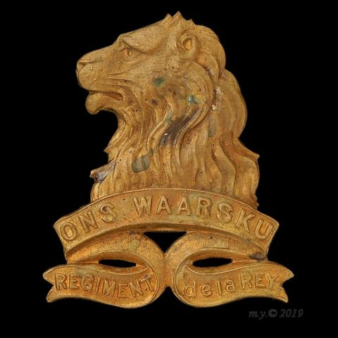 Regiment de la Rey Cap Badge 1934-1964