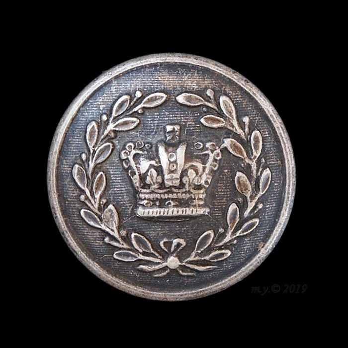 County Deputy Lieutenant's silver plated button