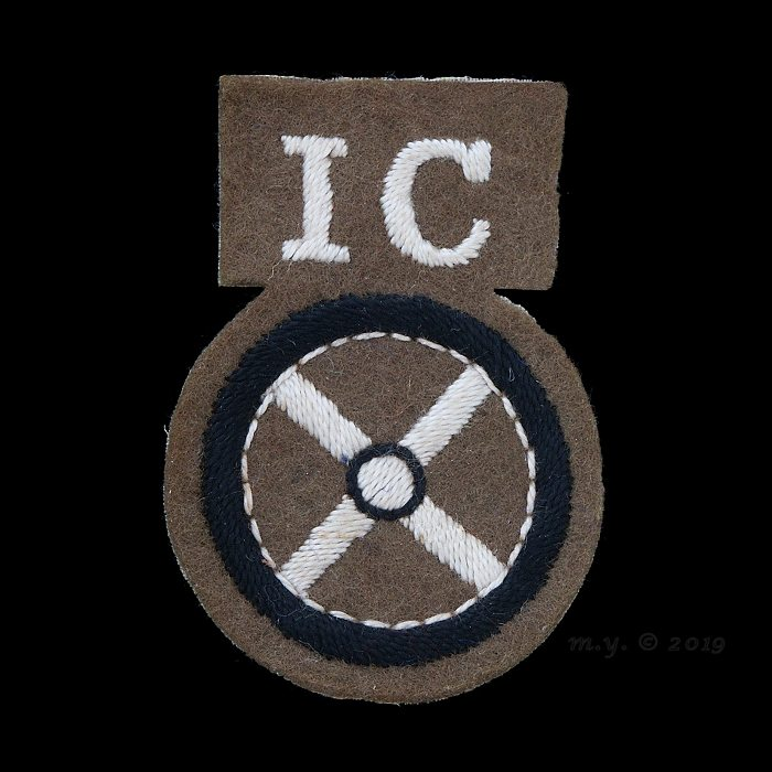 Steering Wheel 'I.C.' Driver Proficiency Badge