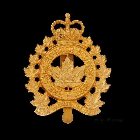 The Lake Superior Scottish Regiment Cap Badge