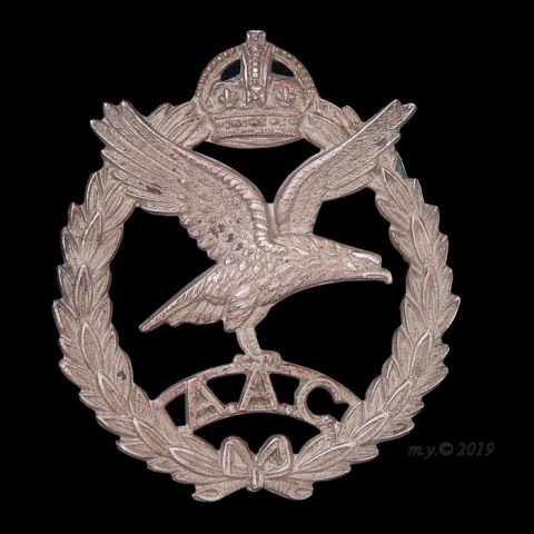 Army Air Corps Cap Badge 1942-1950