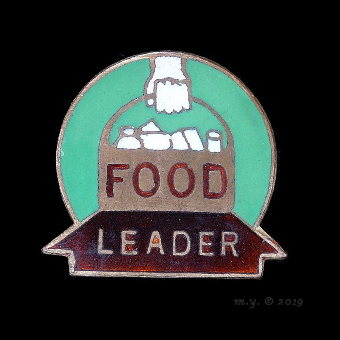 WW2 Food Leader Badge