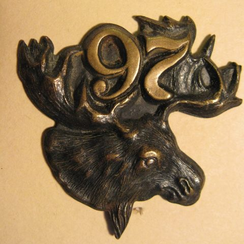 97th Algonquin Rifles Pouch Badge
