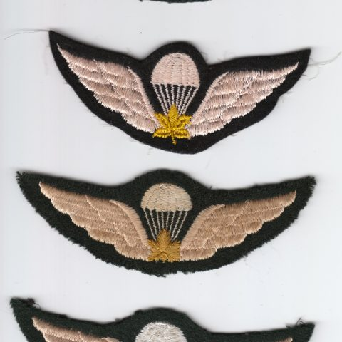 Canadian Parachute Qualification Wings