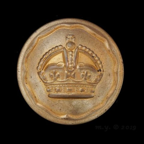 Ayrshire (Earl of Carrick's Own) Yeomanry Uniform Button