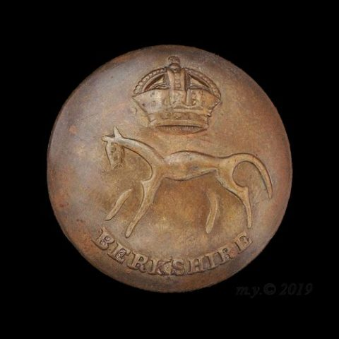 Berkshire Yeomanry Uniform Button