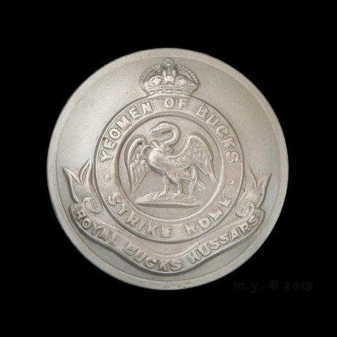 Royal Buckinghamshire Hussars Uniform Button