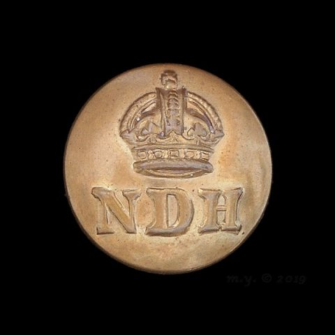 Royal North Devon Hussars Uniform Button
