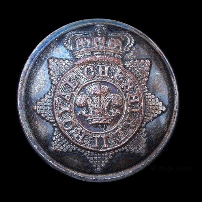 2nd Royal Cheshire Militia Uniform Button