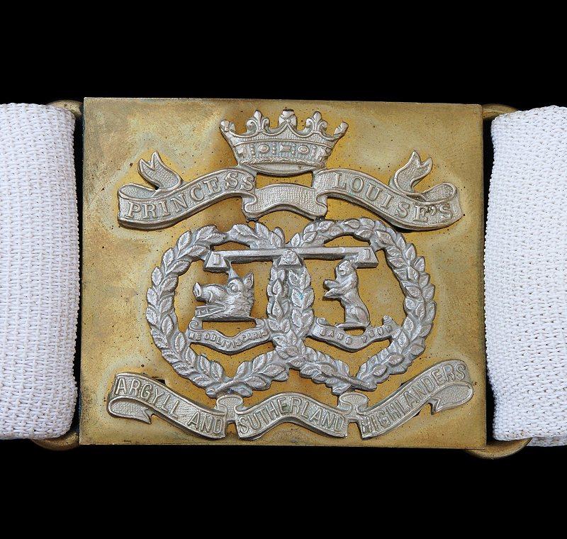 Argyll & Sutherland Highlanders Belt Buckle