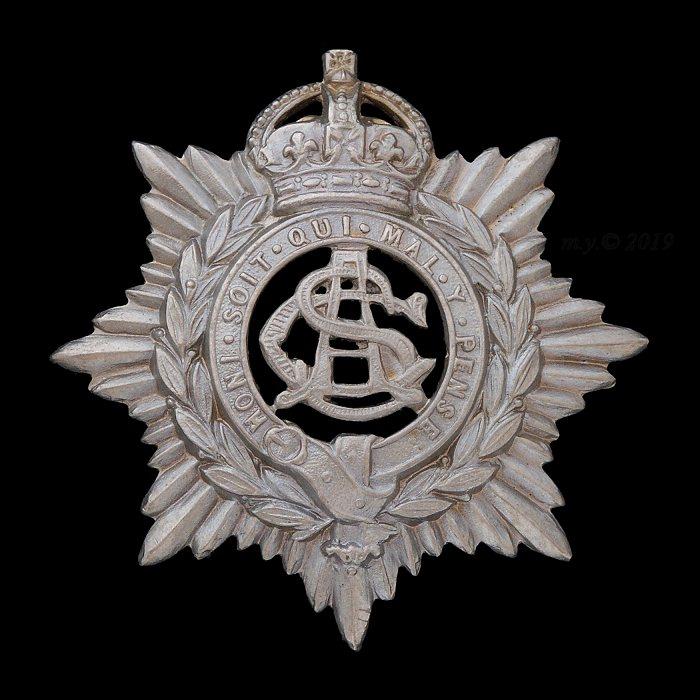 Army Service Corps Volunteers Forage Cap Badge 1901-08