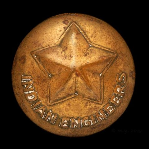 Corps of Indian Engineers Uniform Button