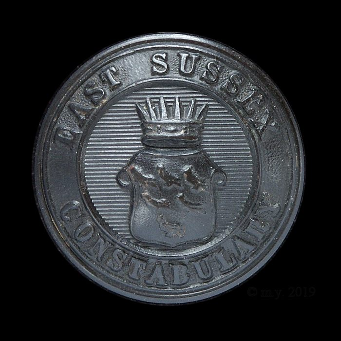 East Sussex Constabulary Uniform Button