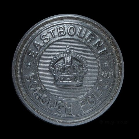 Eastbourne Borough Police Uniform Button