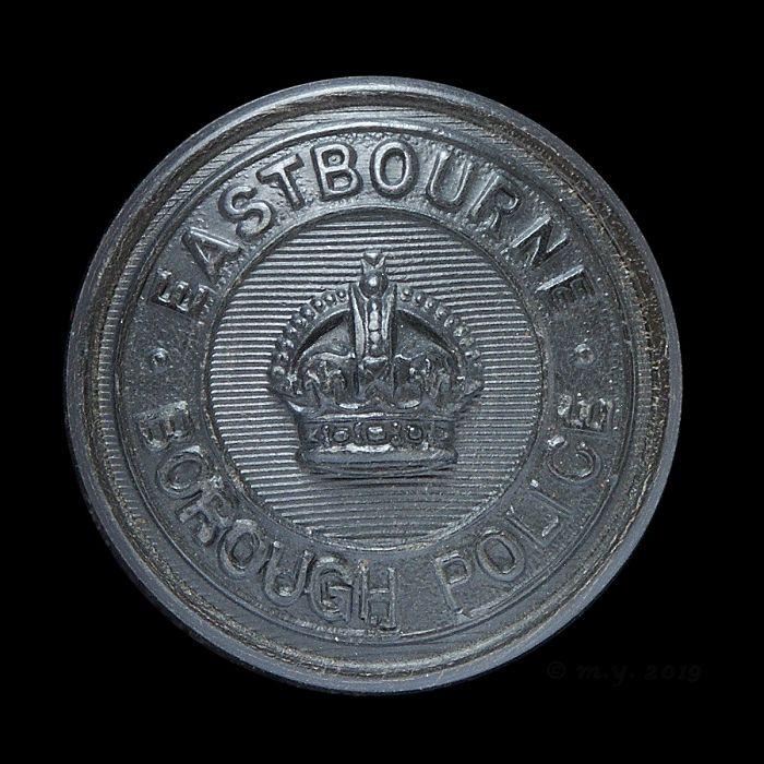 Eastbourne Borough Police Uniform Button