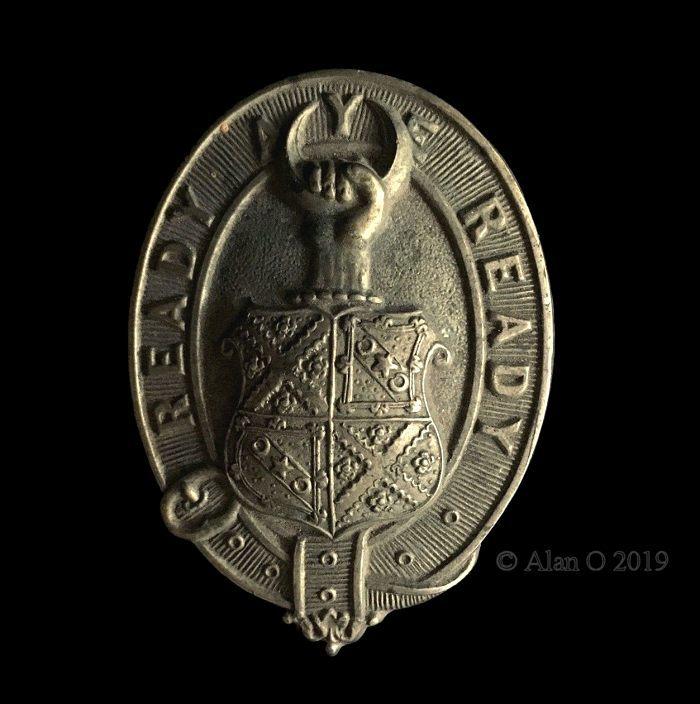 Merchiston Castle School OTC Cap Badge