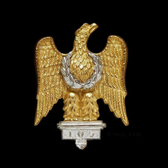 The Royal Dragoons (1st Dragoons) Silver & Gilt Cap Badge