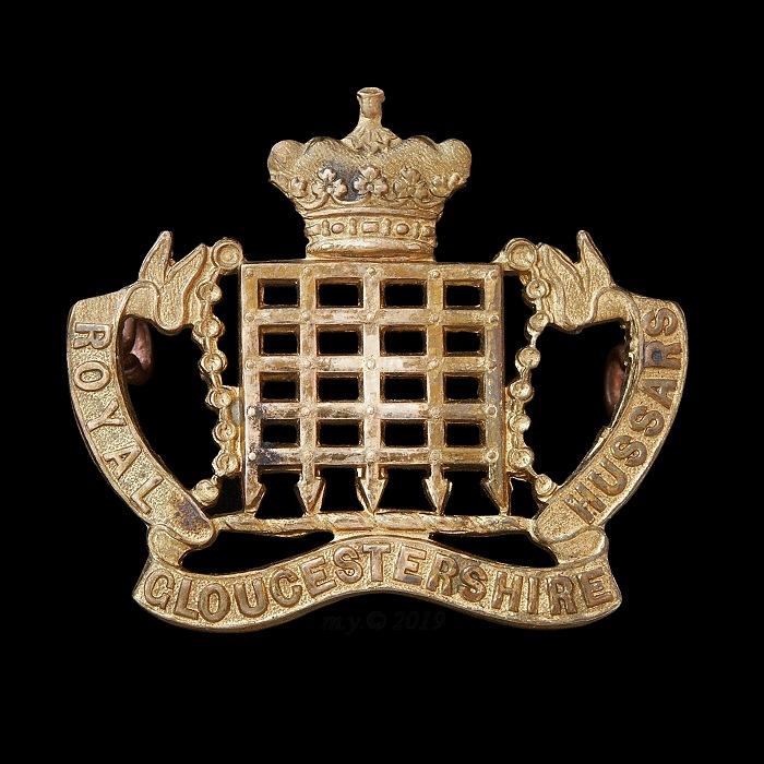 Royal Gloucestershire Hussars Cap Badge