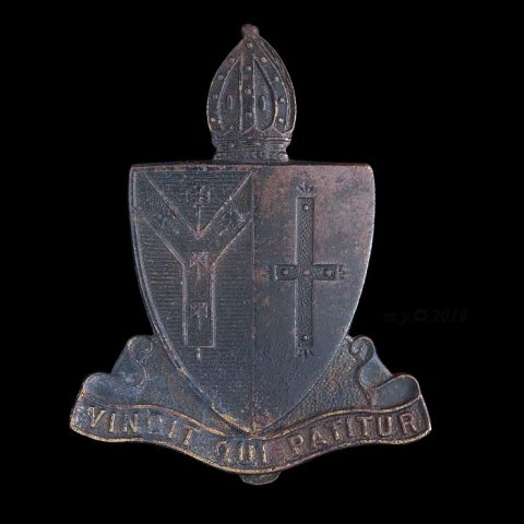 Whitgift Grammar School Officers Training Corps Cap Badge