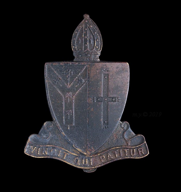 Whitgift Grammar School Officer Training Corps Cap Badge