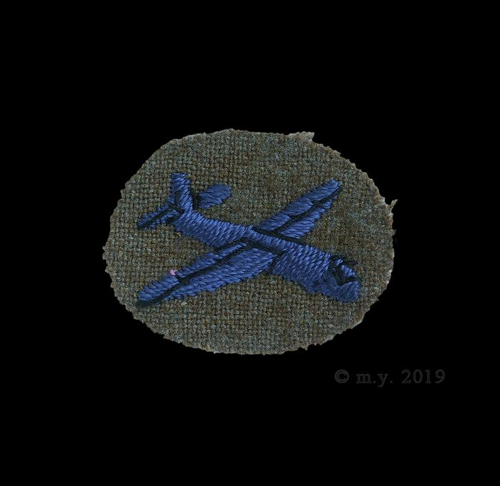 WW2 Glider Borne Troops Airborne Forces  Proficiency Badge.