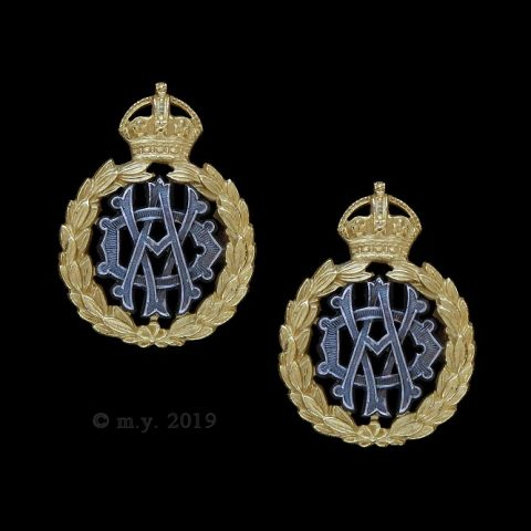 Army Veterinary Department Officers' Collar Badges 1902-1906