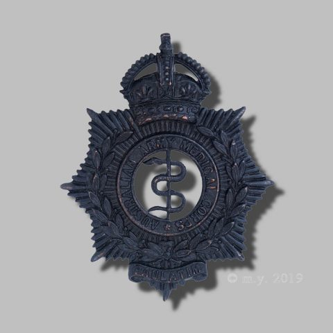 Australian Army Medical Corps Cap Badge 1930-41