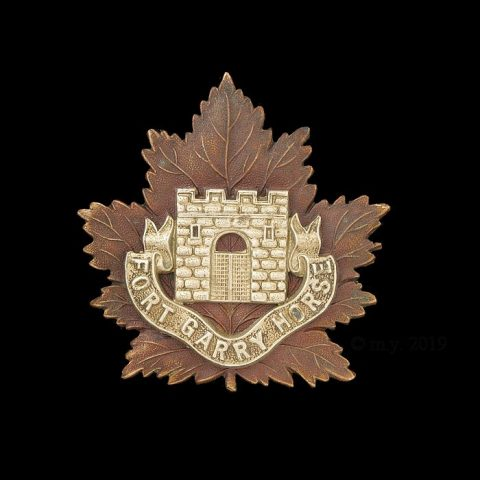 Fort Garry Horse Cap Badge