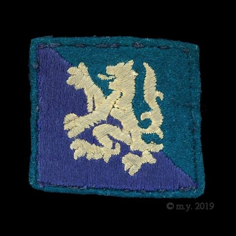 North Highland District (Scottish Command) Formation Sign Badge 1941