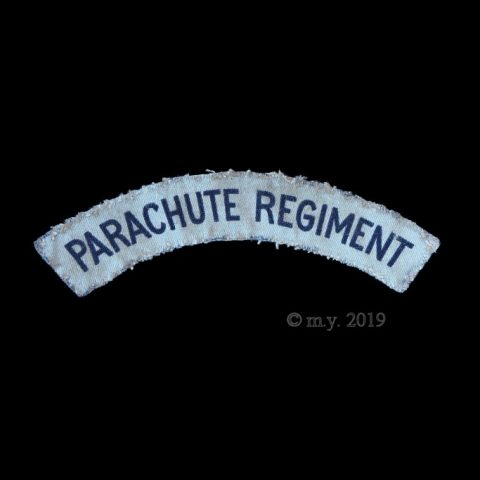 Parachute Regiment Printed Cloth Shoulder Title