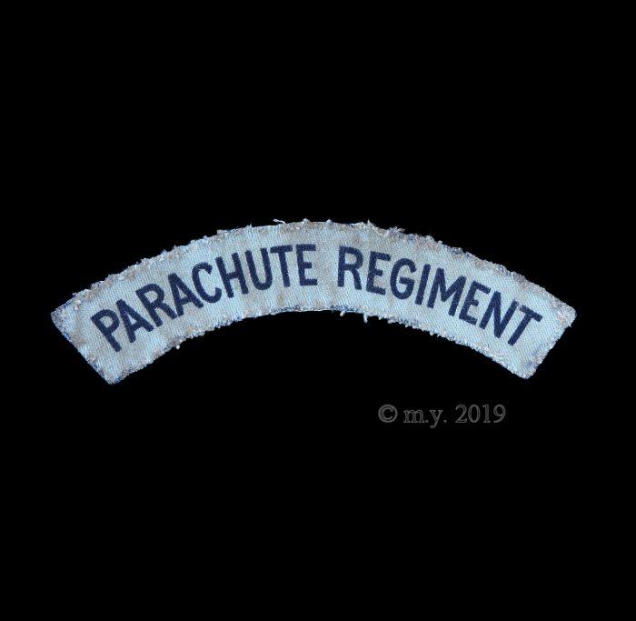 Parachute Regiment Printed Cloth Shoulder Title