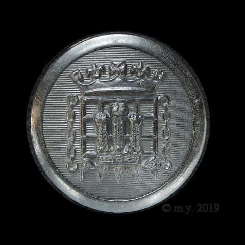 Queen's Westminsters, King's Royal Rifle Corps Uniform Button